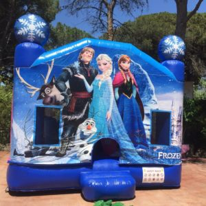 castillo inflable saltar frozen