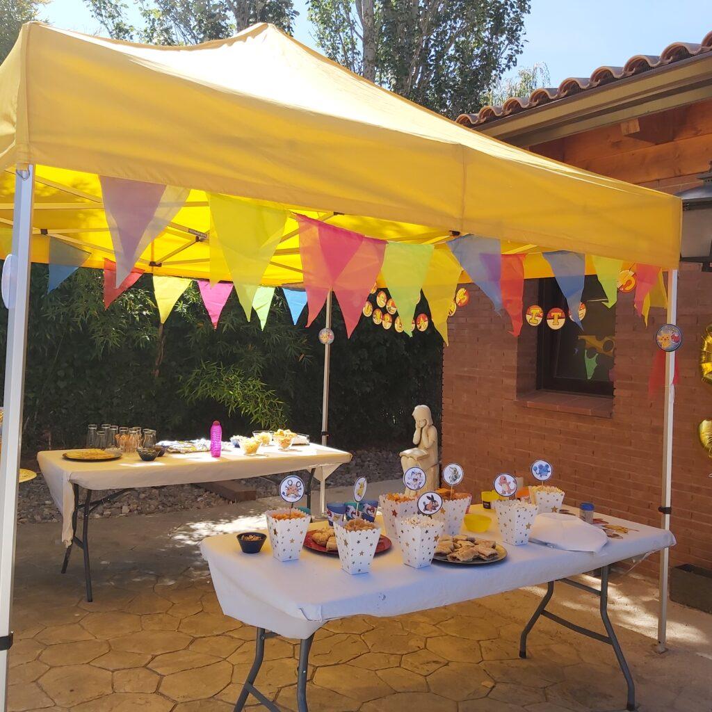 celebracion cumpleaños casa particular evento